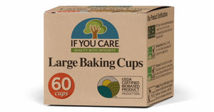 Large Baking Cups - Barefoot Creations