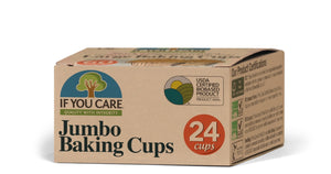 Jumbo Baking Cups - Barefoot Creations