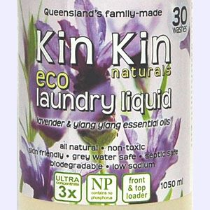 Kin Kin naturals - Laundry Liquid Lavender & Ylang Ylang essential oils- 1050ml - Barefoot Creations