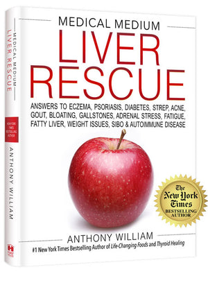 Medical Medium Liver Rescue Book - Barefoot Creations