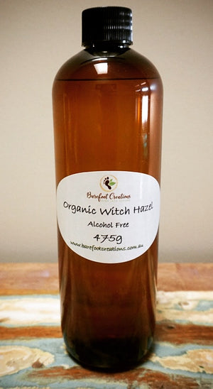 Organic Witch Hazel 475g - Barefoot Creations