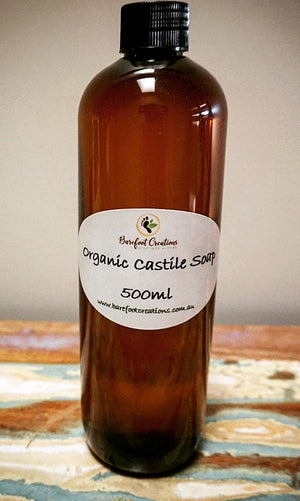 Organic Castile Soap - Barefoot Creations