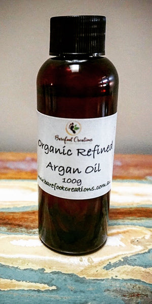 Organic Argan Oil - Barefoot Creations