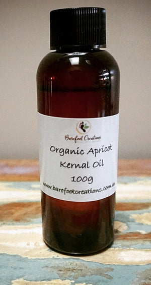 Organic Apricot Kernal Oil - Barefoot Creations