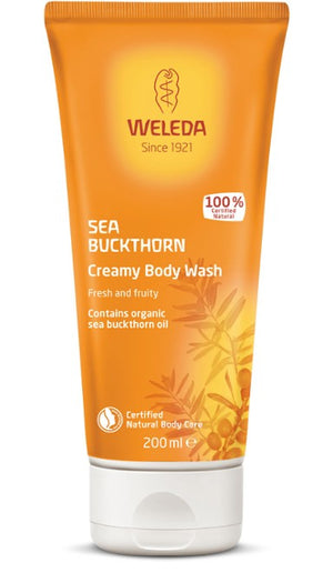 Sea Buckthorn Creamy Body Wash - Barefoot Creations