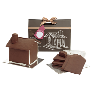 Chocolate Gingerbread House Kit - Barefoot Creations