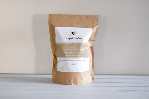 Pure and Natural Powdered Coconut Soap - 750g