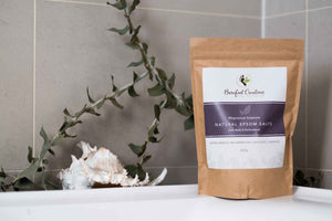 Natural Epsom Salts 850g - Barefoot Creations