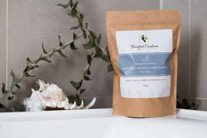 Natural Magnesium Chloride Flakes - 850g - Barefoot Creations