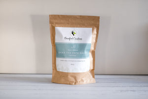Natural Dead Sea Mineral Bath Salts - 850g - Barefoot Creations