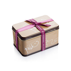 Gingerbread Man Cookie Tin 225g - Barefoot Creations