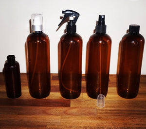 Lid, mist spray, trigger spray and lotion pumps - Barefoot Creations