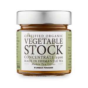 Certified Organic Vegetable Stock Concentrate - Barefoot Creations