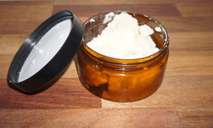 Organic Unrefined Shea Butter - 125g - Barefoot Creations