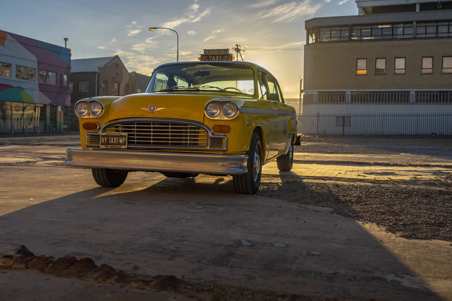 Checker A11 New York Cab - Cape Town's drug-busting taxi