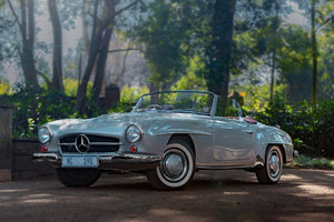 Mercedes-Benz 190SL - filming the Concours SA winner for Ep6