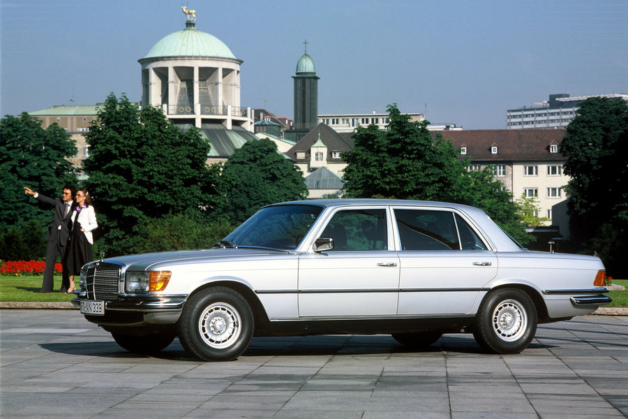 45 Years of the muscular Mercedes-Benz 450 SEL