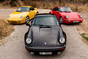 Porsche 911 Turbo: the air-cooled era