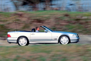 Remembering the monstrous Mercedes-Benz SL 73 AMG
