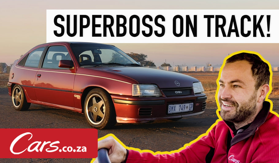 Opel Kadett Superboss at 30: Ciro drives it (video)