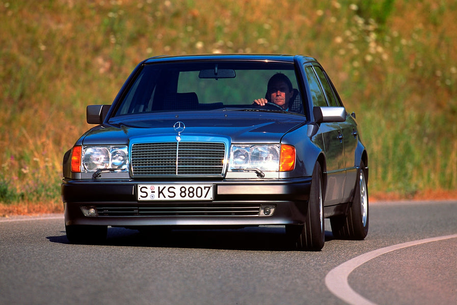 Happy 35th birthday to the W124!