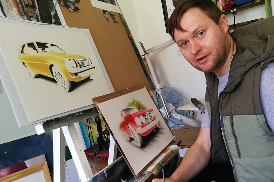 Interview: Automotive Artist Steve Erwin