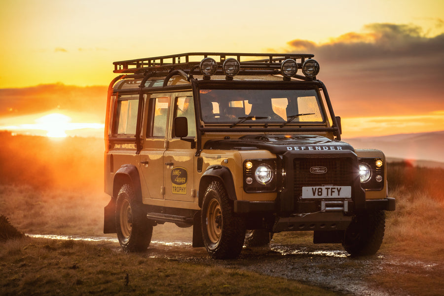 Classic Land Rover Defender lives again!