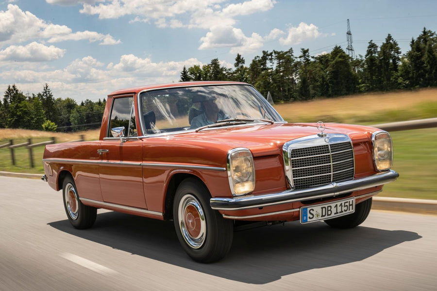 Classic Drive: Mercedes-Benz 220D La Pick-Up