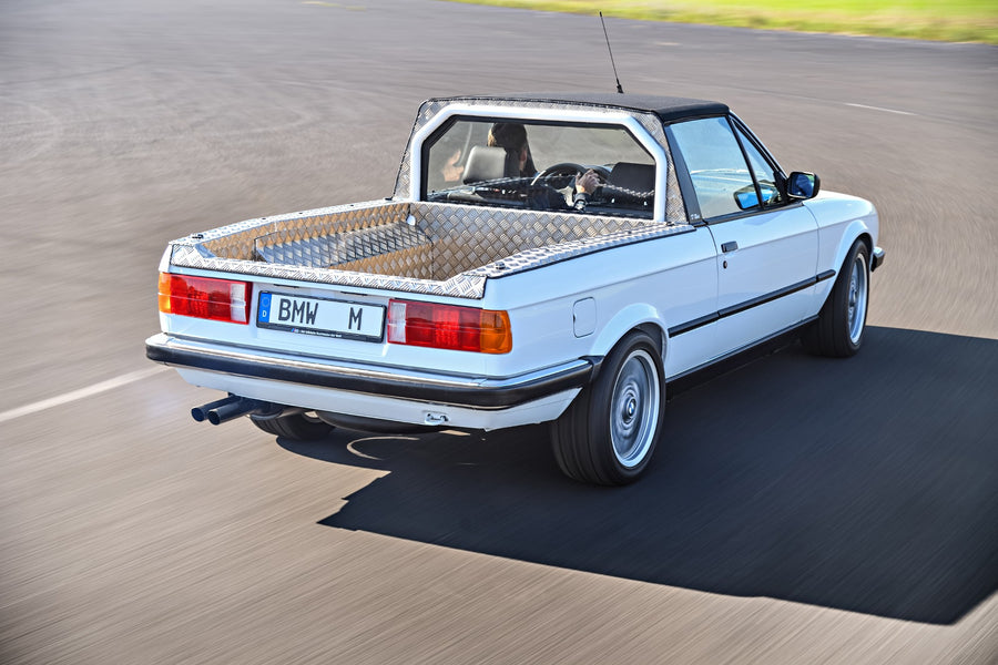The story of that BMW M3 Bakkie