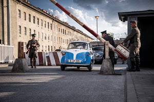"BMW Isetta stars in ""The Small Escape"""