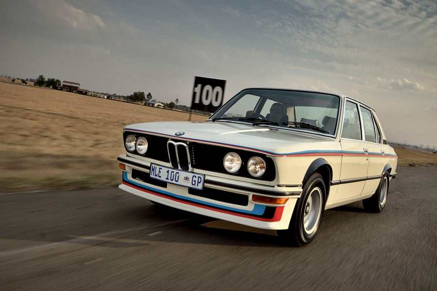 BMW unveils restored SA icon, the 530 MLE
