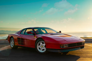 Ferrari Testarossa - Poster Child features in Episode 7