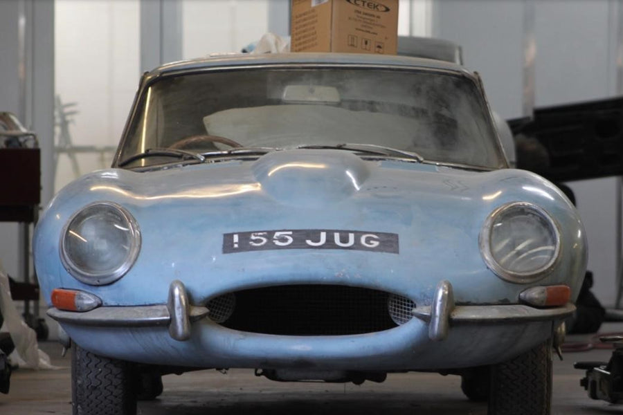 Neglected for 40 years, barn-find E-Type gets complete restoration