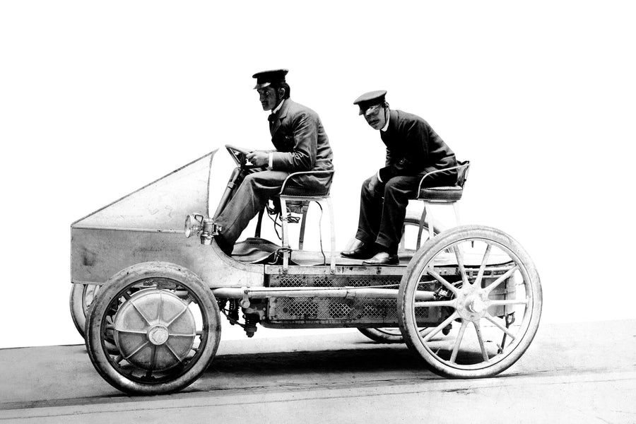 An electric Porsche? The idea is not new at all...