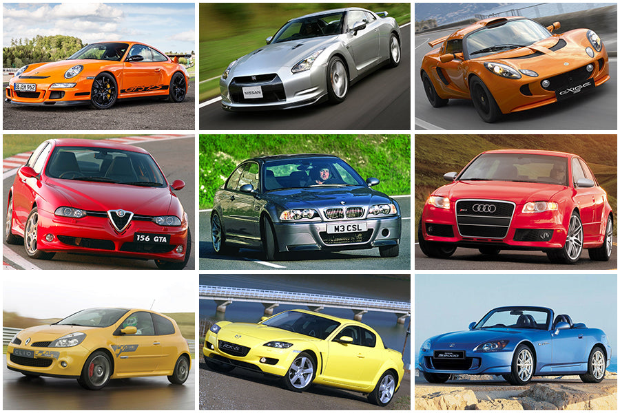 Mega List: 100 Future Classic Cars from the Noughties