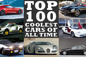 Are these the 100 Coolest Cars of all time?