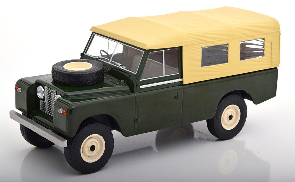 Land Rover Series 2 scale model