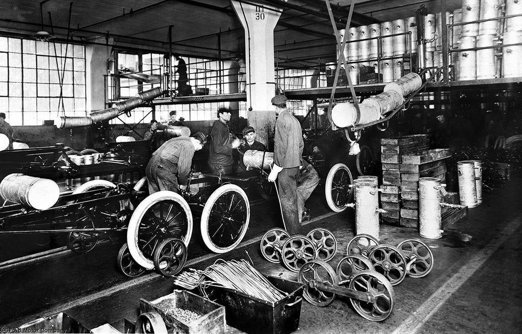 Ford Model T assembly America