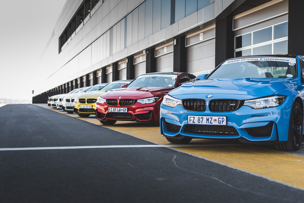 BMW driving course