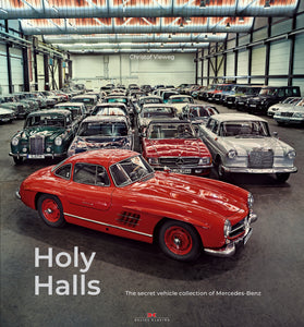 PRE-ORDER! Holy Halls: The secret vehicle collection of Mercedes-Benz