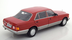Mercedes-Benz (W126) 560 SEL (Red, Norev 1:18)