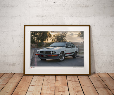 Alfa Romeo GTV6 3.0 Photo Print (A2 & A3)