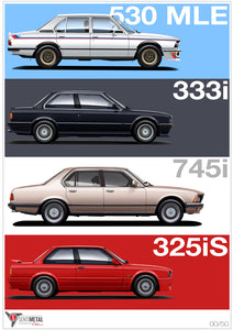 South Africa's Unique Performance BMWs (A2 Print)