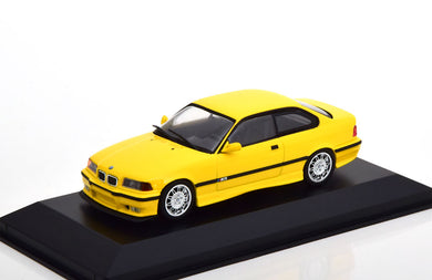 BMW (E36) M3 Coupe - yellow (Maxichamps 1:43)