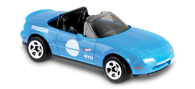 Hot Wheels 1991 Mazda MX-5 (blue)