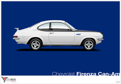 Chevrolet Firenza Can-Am Print (A2 & A3)