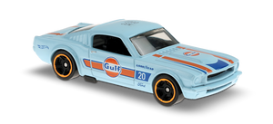 Hot Wheels 1965 Ford Mustang 2+2 Fastback (Gulf)