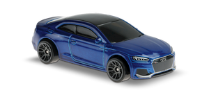 Hot Wheels Audi RS5 (blue)