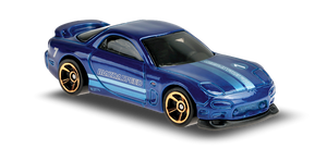Hot Wheels Mazda RX-7 (blue)