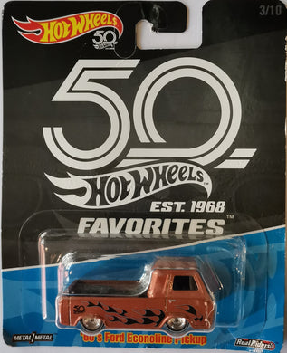 Hot Wheels Ford Econoline Pickup (50th Anniversary)